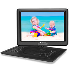 "16"" HD Portable DVD Player Swivel Screen Monitor Region Free With Battery USB"