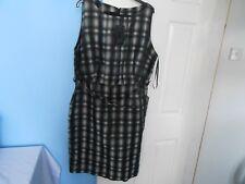 BNWT STUNNING WOMAN'S DEBENHAMS BETTY JACKSON BLACK DRESS SIZE UK 18  EUR 46