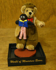 World of Miniature Bears #682 FRED, by Marie Fuertes, NEW From Retail Store