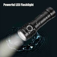 Powerful LED Flashlight USBC Rechargeable 21700 Lamp 4000lm 4*SST20 High Quality