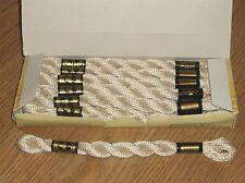 BOX/12 SKEINS~DMC COTON PERLE/PEARL COTTON Art. 115 SIZE 3 ECRU  16.4YDS x 12 !!