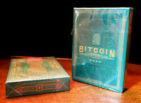 BITCOIN CASH PLAYING CARDS - GREEN + GOLD FOIL LIMITED EDITION ONE DECK 2019