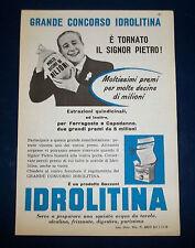 A090-Advertising Pubblicità-1959-IDROLITINA