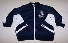Carlton Blues AFL Boys Navy Blue Track Top Jacket Size 0 New