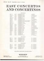 Hans Sitt : Concertino IN La Minore op.70 Für Violine E Klavier - Bosworth