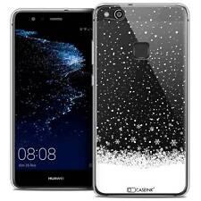 """Coque Crystal Gel Pour Huawei P10 LITE (5.2"""") Souple Noël 2017 Flocons de Neige"""