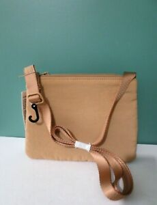 NEW w/ Tag UNIQLO U Women Padded Mini Shoulder Bag - 100% Nylon Shell - BEIGE