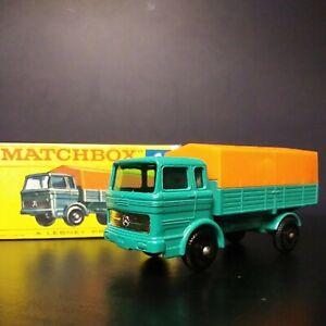 Matchbox #1 Mercedes Truck In Crisp Original Box VNM