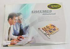 Skymaster USB 2.0+1394 Cardbus PC Card Combo