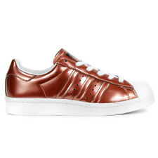 Adidas Women's Superstar Boost Copper Metallic/White Shoes BB2270 NEW