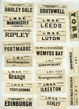 100 LMS Luggage Labels