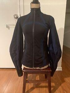 lululemon roksanda size 6 face Forward Define womens jacket long sleeves mint