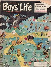 Boy's Life April 1959 He Soared 100,00 Feet to the Edge of Space w/ML 011617DBE2