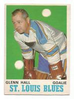 1970-71 O-Pee-Chee #210 Glenn Hall St. Louis Blues
