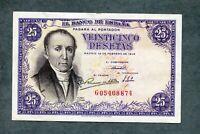 BILLETE 25  PESETAS 1946 SERIE G05408874 EBC