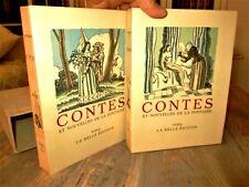 Contes et Nouvelles de La Fontaine. Aquarelles de Maurice LEROY.