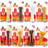 Nylabone Extreme Dog Chews Toy Tough Durable Strong Dental Health 8 Flavours
