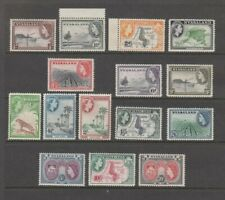 NYASALAND 1953 COMPLETE SET OF QE2 DEFINITIVE STAMPS TO 20 SHILLINGS MNH