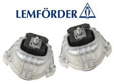 OEM Engine Motor Mount Lt & Rt 2pcs Lemforder BMW E82 E88 E90 E91 E92 E93 Z4