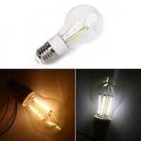 E27 AC/DC12V 3W Retro Filament Glass Light Lamp Bulb 50LM White/Warm White
