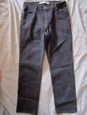 HARLEY DAVIDSON Genuine Motor Clothes Black Jeans Straight Leg Women's 12 X 31