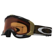 Oakley 57-404 Twisted Gold Factory Text w/ Persimmon Lens Mens Snow Ski Goggles