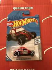 Custom Volkswagen Beetle #69 Volkswagen 2019 Hot Wheels Case C