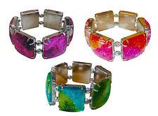 Accessories Sparkly Multi Colour Hand Fashion Wrist Bracelet