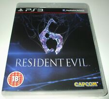 ** RESIDENT EVIL 6 ** Playstation 3/PS3 Survival Horror Game NEW CASE/MINT DISC