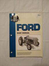 Ford Tractor 2N, 8N, 9N I&T Shop Service Manual Fo-4 1939-1952
