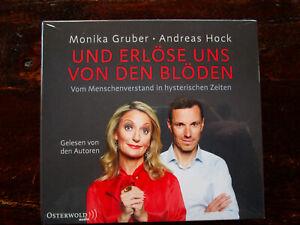 """Monika Gruber,Andreas Hock """"UND ERLÖSE UNS VON DEN BLÖDEN"""",6 CDs,OVP,ohne Porto"""