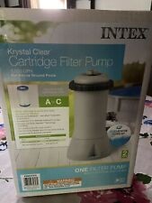 Intex 1000 GPH Easy Set Above Ground Swimming Pool Cartridge Filter Pump System
