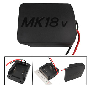 For Makita 18V Li-ion battery adapter to dock power 12 gauge robotics DIY NEW
