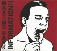 MAXIMO PARK too much information (2X CD, Deluxe Edition, limited-edition, 2014)