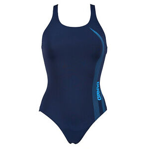 Arena Airflow One Piece Swimsuit Swimming Costume Sports & Leisure Swimsuit Navy
