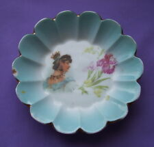 Antique Imperial Kuznetsov Co Russian Moscow porcelain rare plate*