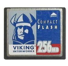 VIKING INTERWORKS 256MB CF Memory CompactFlash Card Card 256MB