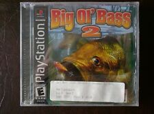 Fisherman's Bait 3 Big Ol' Bass 2 (Sony PlayStation 1, 2000)  PSX PS1 New Sealed