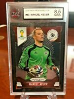 Panini Prizm Fifa World Cup 2014 Manuel Neuer Base #83 - KSA 8.5 NMM+ Germany