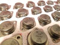 1 Piece | JAN2N6547 Mil-Spec Bipolar NPN Silicon Transistor 400V 15A TO-3 VISHAY