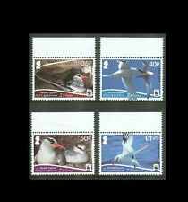 Ascension Island 2011 WWF Red-Billed Tropicbirds Set of Four Stamps MNH