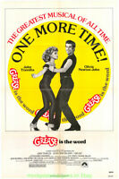 GREASE MOVIE POSTER 17x24 Unfolded Mini-Sheet Size R1980 Very Fine OLIVIA NEWTO