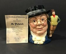 Royal Doulton 'Mr. Pickwick' D6959 1993 Large Toby Character Jug - 514/2500