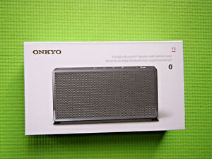 Onkyo T3 Bluetooth Portable Speaker, Power Bank Function, Built-in Microphone