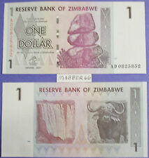 ZIMBABWE AFRICA VG CIR 1Z DOLLAR 2007 BANKNOTE Pre Trillion Paper Money Currency