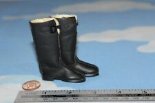 ALERT LINE 1//6TH SCALE WW2 RUSSIAN SOVIET TALL BLACK BOOTS AL100015