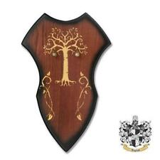 Wooden Dark Oak Large Fantasy Wall Display Plaque for Sword, Dagger, Axe, etc