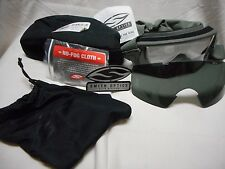 SMITH OPTIC OUTSIDE THE WIRE GOGGLES KIT, 2 LENS CLEAR/GREY, FOLIAGE GREEN, NEW