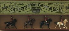 Britains: Boxed Set 201- Officers Of The General Staff. Pre War