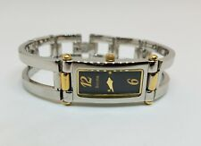 Vintage Bulova Ladies Bangles Stainless Steel Watch 98T18
